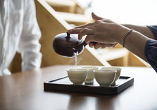 Tea ceremony japanese culture Concept Royalty Free Stock Image