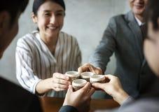 Tea ceremony Japanese culture concept Stock Photos