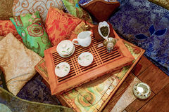 Tea ceremony set Stock Image