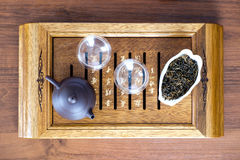 Tea ceremony set Royalty Free Stock Images