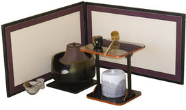 Tea Ceremony Supplies Stock Photography