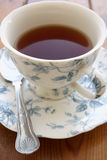 Tea in a china cup Royalty Free Stock Photos