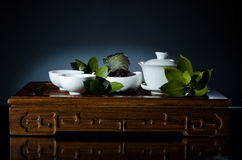 Tea china ware service Royalty Free Stock Photo