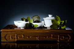 Tea china ware service Royalty Free Stock Image