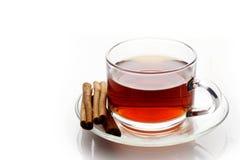 Tea and Cinnamon Royalty Free Stock Photo