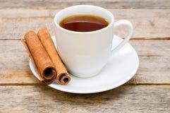 Tea with cinnamon Stock Photography