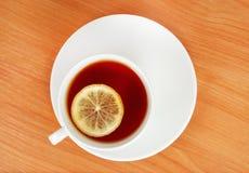 Tea circles Stock Images