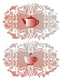 Tea-cloth Royalty Free Stock Images