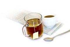 Tea and cofee Royalty Free Stock Photo