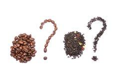 Tea or coffee Royalty Free Stock Image