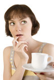 Tea or coffee? Royalty Free Stock Photo