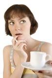 Tea or coffee? Royalty Free Stock Photo