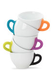 Tea or coffee cups Royalty Free Stock Photo