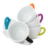 Tea or coffee cups Stock Image