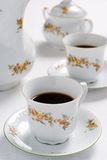 Tea or coffee set Royalty Free Stock Image
