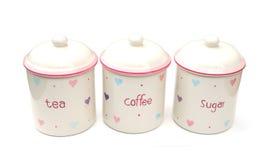 Tea Coffee Sugar Royalty Free Stock Photography