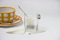 Tea for coldness. Alternative treatment for coldness - object photography royalty free stock image