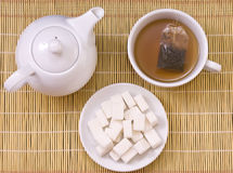 Tea colection Stock Photography