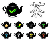 Tea collection Royalty Free Stock Photography