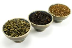 Tea collection Stock Images