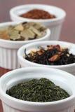 Tea collection - bancha or sencha green tea Royalty Free Stock Image