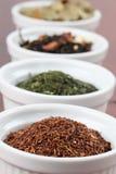 Tea collection - rooibos Stock Photo