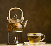 Tea composition Royalty Free Stock Photography