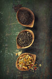 Tea composition Stock Photo