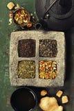 Tea composition Stock Photography