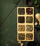 Tea composition Royalty Free Stock Images