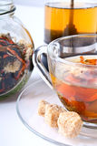 Tea composition with chrysanthemum Stock Photo