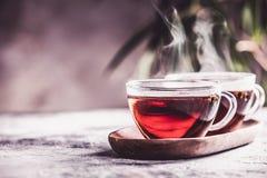 Tea composition. Selective focus Stock Images