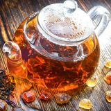 Tea composition Royalty Free Stock Image