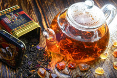 Tea composition Royalty Free Stock Photo