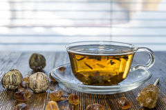 Tea composition Stock Image