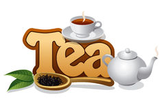 Tea concept Royalty Free Stock Photo