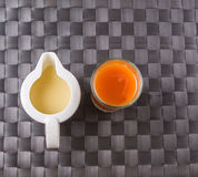 Tea and Condensed Milk II Royalty Free Stock Image
