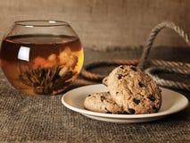 Tea cookies Stock Photo