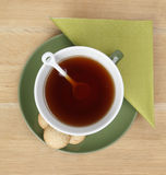 Tea and cookies Stock Image