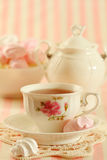 Tea and cookies Royalty Free Stock Photo