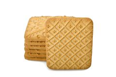 Tea biscuits Stock Photo