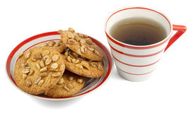 Tea and cookies Stock Photo