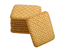 Tea biscuits Royalty Free Stock Photos