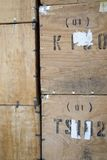 Tea Crates Stock Image