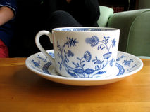 Tea cup. With a flowering flavor Stock Photos