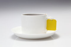Tea cup. With tea for edge-out Royalty Free Stock Photo