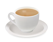 Tea cup. Stock Photos