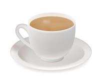 Tea cup. Tea cup vector illustration. Contains mesh Stock Photos
