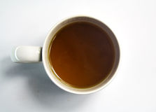 Tea cup. Classic tea cup  on white background Stock Photos