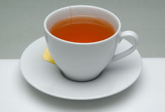 Tea Cup. With tea for edge-out Royalty Free Stock Image